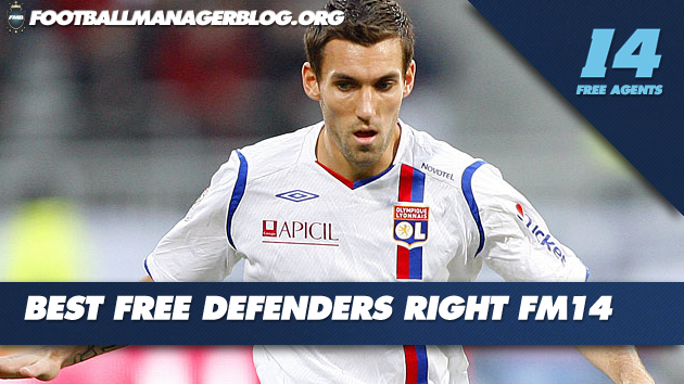 5 Best Free Defenders Right FM 2014