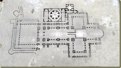 St John plan of church