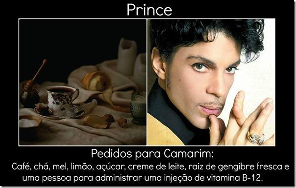 Prince e pedido