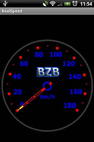 Real Speedometer