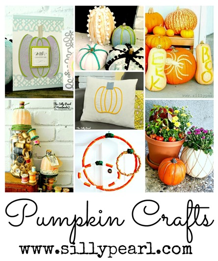 Pumpkin Crafts at The Silly Pearl