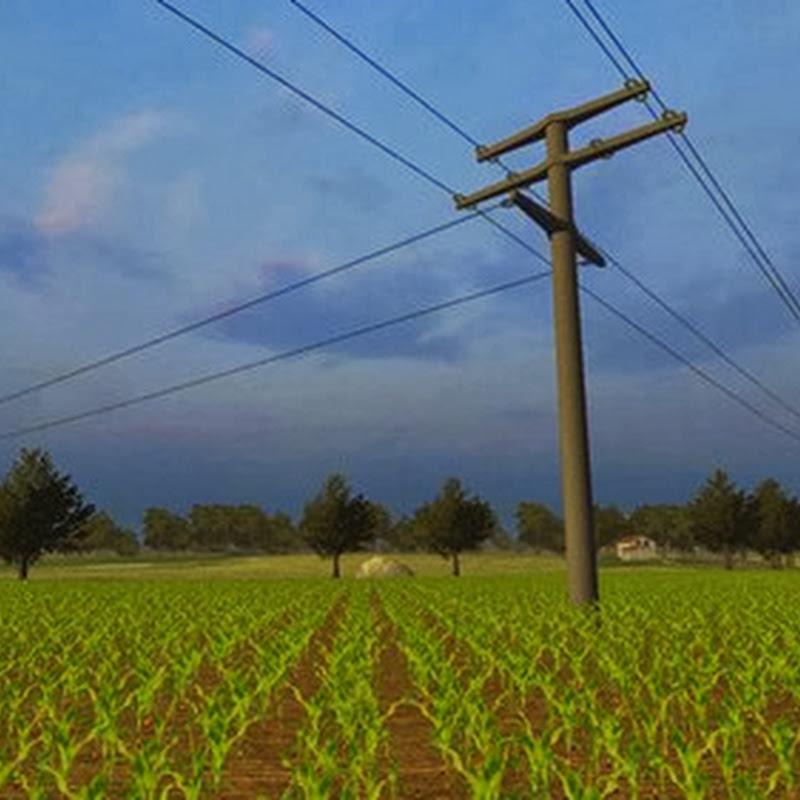 Farming simulator 2013 - Electricity pylons Pack v 4.0