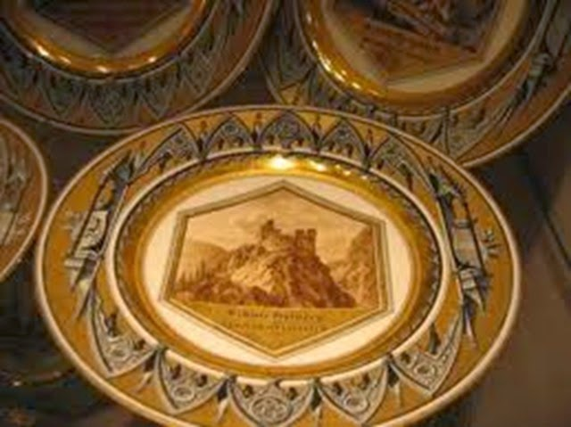 Vajilla coleccion imperial de la Hoffburg. Viena