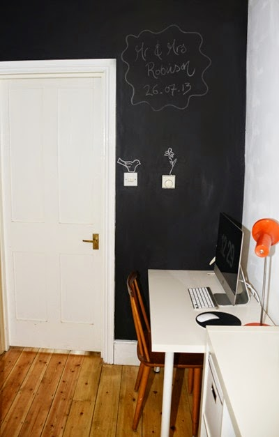 blackboard-wall
