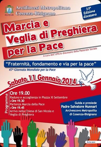 VOLANTINO Marcia della Pace 2014