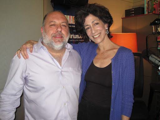 Jimmy Carbone, owner of Jimmy's No. 43 in New York with Rozanne.