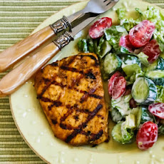 Grilled Halibut with Cumin and Lime