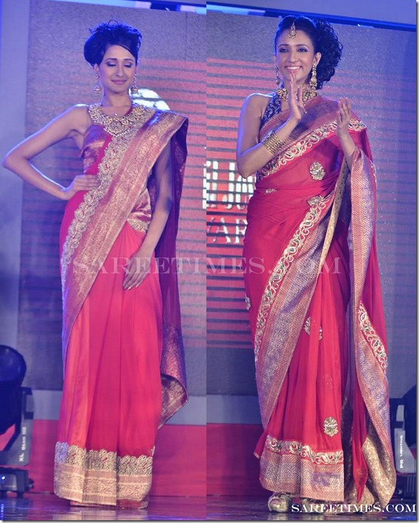 Sruthi_Sancheti_Red_Sarees