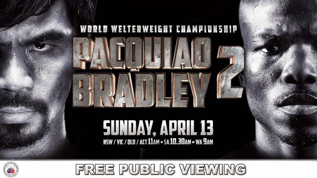 Pacquiao v Bradley 2