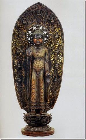 395 京都 清涼寺 釋迦瑞像