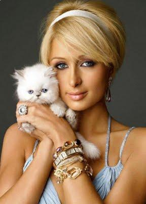 Paris Hilton Blonde Haircuts