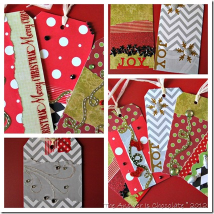 Christmas Tag Collage