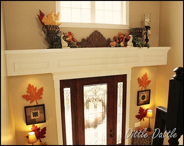 Fall-Autumn-Foyer-decor-decorating