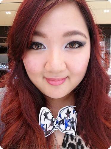 Priscilla Makeup Contest Lancome Alber Elbaz eyes FOTD 5