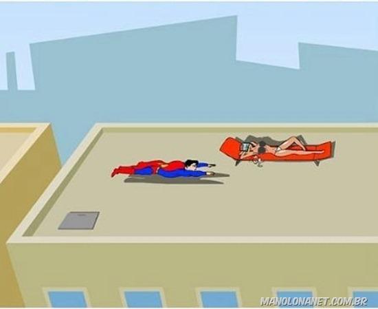 Super Homem e Sua Super Ereção
