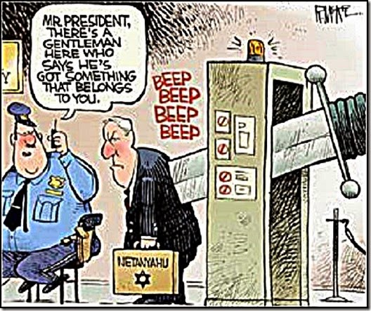 Netanyahu reutrn knife That Stab Israel's back