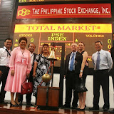 Philippine Stock Exchange Tour for 11th PRIC delegates