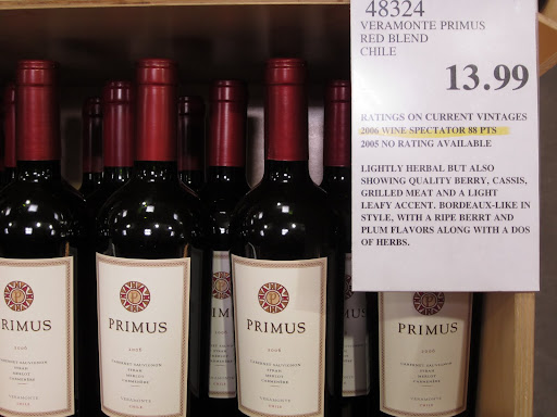 You could also step it a up a little and try the Veramonte Primus from Chile.  At $13.99, this blend of Cabernet Sauvignon, Syrah, Merlot, and Carmenere still has a lot of dark fruit but adds a few spicy, herbal, and earthy notes to the mix.