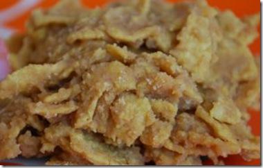Chewy PB Cornflake Balls