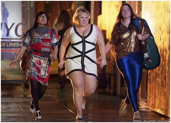 (L to R) Liza Lapira, Rebel Wilson and Lauren Ash in SUPER FUN NIGHT.