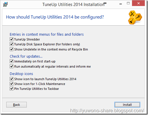 TuneUp Utilities 2014 Serial Number 1