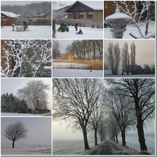 Vintervejr på Lolland-Falster februar 2012
