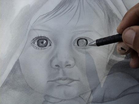 desenho de crianças a lápis 11