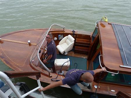 Portul Sziget pe Dunare