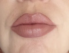 wearing Marc Jacobs (P)Outliner in (Nude)ist and Canyon Clay from Marsala Layering lip collection