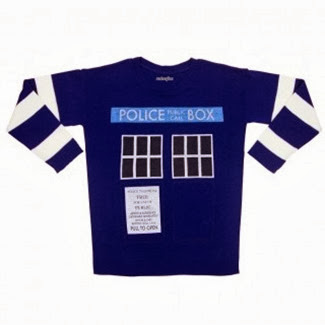 TARDIS Sweater from We Love Fine