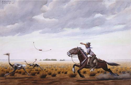 Boleando by F. Molina Campos
