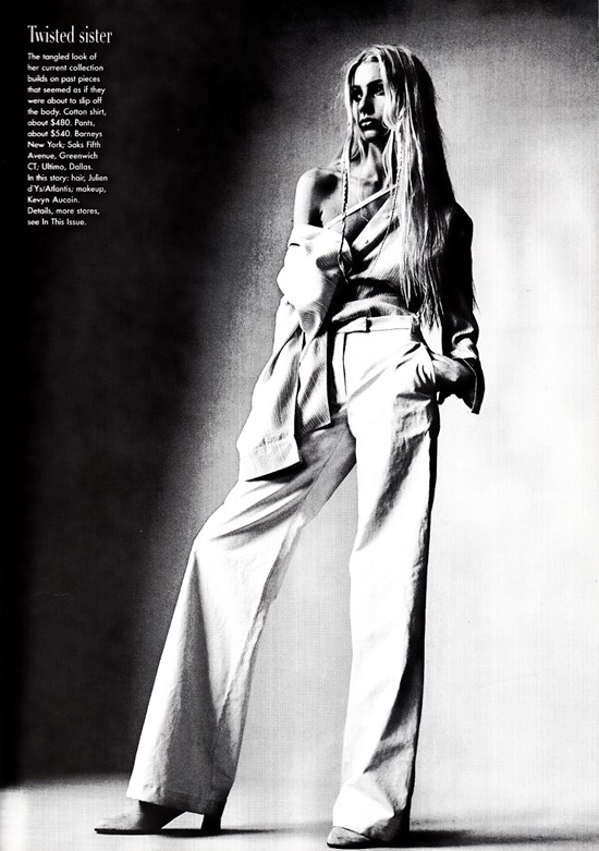 vogue us april 1997 Ann  Demeulemeester  6