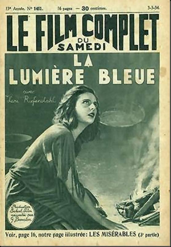 La luz azul