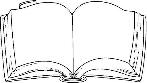 Coloring Pages 187 Book Coloring Pages Open Book Coloring Page