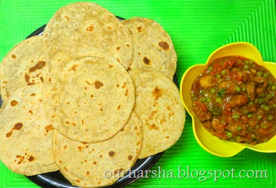 how to make curry with green peas