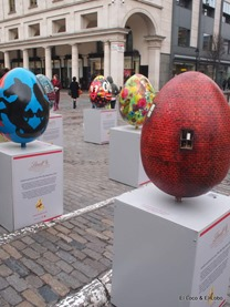 Covent Garden: Lindt Eggs