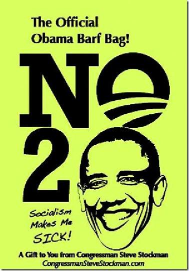 Official Obama Barf Bag