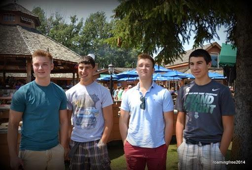 Matthew, Nicolas, Daniel, Bryce