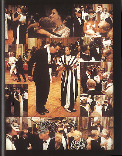 A collage of photos from Truman Capote's legendary Black and White Ball, held in the Plaza Hotel's ballroom in the fall of 1967. I think I just found inspiration for my apartment's first soiree once it's complete.