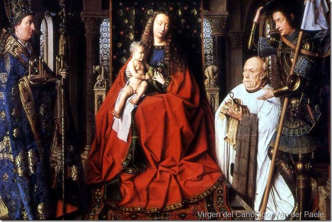 Virgen del Canónigo, Van der Paele.