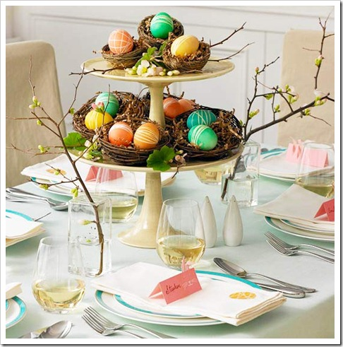 Easter Egg Cake Pedestal