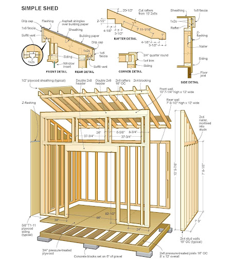 How to build a 10x10 shed roof, gate arbour plans