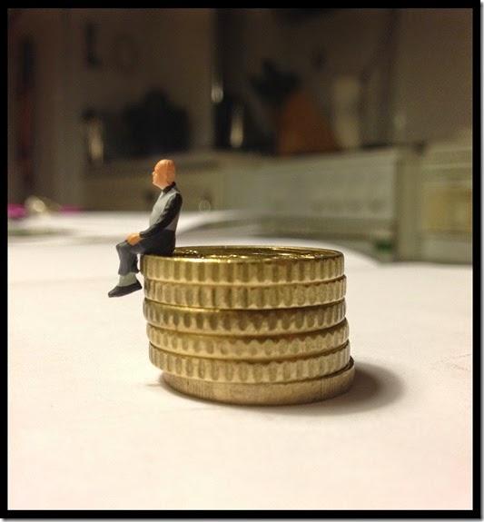 Foto Euro Münzen Lo Graf von Blickensdorf