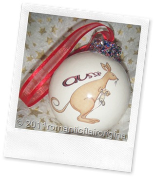Personalized Christmas Funky Kangaroo