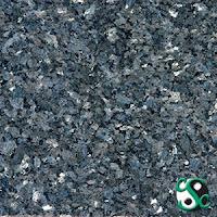 12x12 Blue Pearl Polished Granite Tile