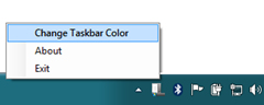 Mengganti Warna Taskbar Windows 7 - Aero Taskbar Color Changer