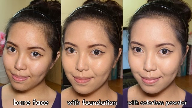 before after powder
