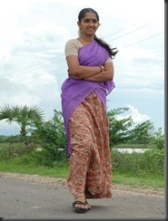 sanusha-in halfsaree_sexy