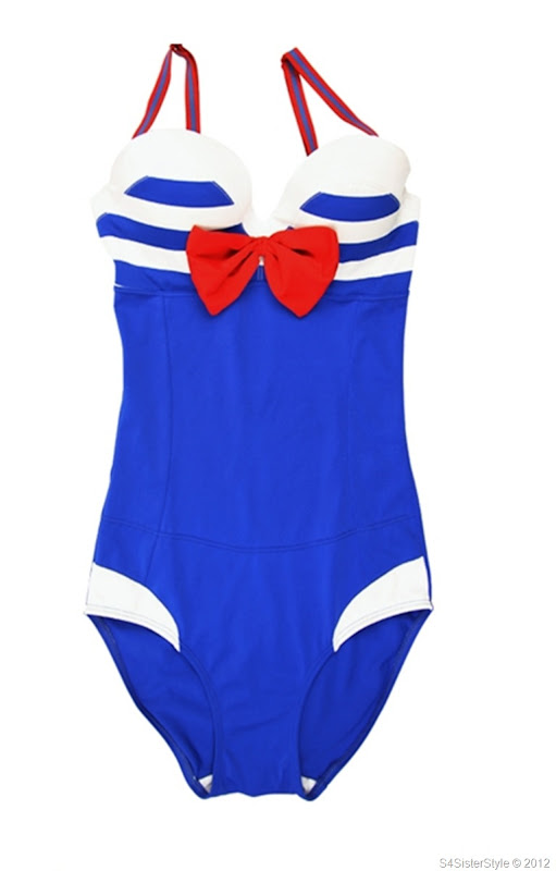 bow-knot-navy-style-swimsuit