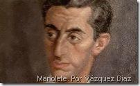 Manolete. Por Vázquez Díaz